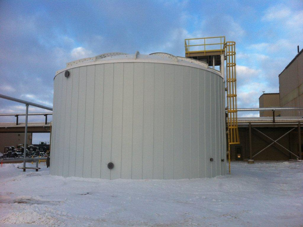 Storage tank insulation thermacon